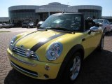 2005 Liquid Yellow Mini Cooper Convertible #11550462