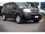 2014 Crystal Black Pearl Honda Pilot LX #115661861