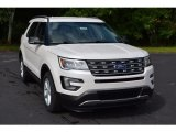 2017 White Platinum Ford Explorer XLT #115661996