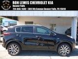2017 Black Cherry Kia Sportage EX AWD #115661819