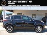 2017 Black Cherry Kia Sportage EX AWD #115661813
