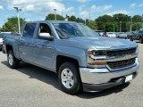 2016 Slate Grey Metallic Chevrolet Silverado 1500 LT Crew Cab 4x4 #115661738