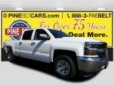 2017 Summit White Chevrolet Silverado 1500 WT Crew Cab #115661736