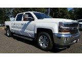 2017 Iridescent Pearl Tricoat Chevrolet Silverado 1500 LT Crew Cab 4x4 #115661735