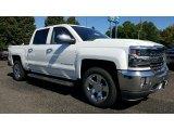 2017 Iridescent Pearl Tricoat Chevrolet Silverado 1500 LTZ Crew Cab 4x4 #115661734