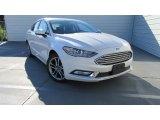 2017 White Platinum Ford Fusion SE #115698410