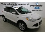 2013 White Platinum Metallic Tri-Coat Ford Escape SEL 1.6L EcoBoost #115698290