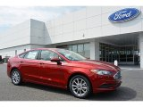 2017 Ruby Red Ford Fusion SE #115720614