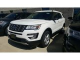 2017 Oxford White Ford Explorer XLT 4WD #115721089