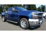 2017 Deep Ocean Blue Metallic Chevrolet Silverado 1500 LT Crew Cab #115720449