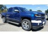 2017 Deep Ocean Blue Metallic Chevrolet Silverado 1500 LTZ Crew Cab 4x4 #115720448