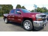 2017 Siren Red Tintcoat Chevrolet Silverado 1500 LT Crew Cab 4x4 #115720446
