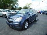 2014 Atlantis Blue Metallic Chevrolet Equinox LT #115721291