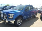 2016 Blue Flame Ford F150 XLT SuperCab 4x4 #115759426