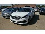 2017 Quartz White Pearl Hyundai Sonata Sport #115759211