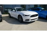 2016 Oxford White Ford Mustang EcoBoost Premium Coupe #115759318