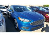 2017 Ford Fusion Lightning Blue