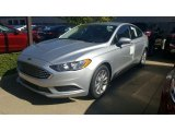 2017 Ingot Silver Ford Fusion SE #115759420