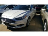2017 White Platinum Ford Fusion SE #115759419