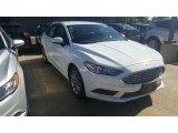 2017 Oxford White Ford Fusion SE #115759417