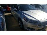 2017 Ingot Silver Ford Fusion SE #115759416