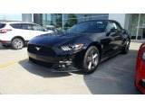2017 Shadow Black Ford Mustang EcoBoost Premium Convertible #115759415