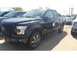 2016 Shadow Black Ford F150 XLT SuperCab 4x4 #115759414