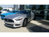 2016 Ingot Silver Metallic Ford Mustang EcoBoost Coupe #115759303