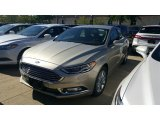 2017 White Gold Ford Fusion SE #115759400