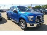 2016 Blue Flame Ford F150 XLT SuperCrew 4x4 #115759395