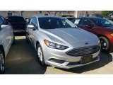 2017 Ingot Silver Ford Fusion S #115759377