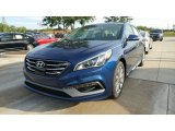 2017 Lakeside Blue Hyundai Sonata Limited #115759280