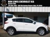 2017 Clear White Kia Sportage LX AWD #115758880