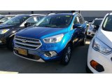 2017 Lightning Blue Ford Escape Titanium 4WD #115759365