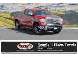 2016 Barcelona Red Metallic Toyota Tundra Limited Double Cab 4x4 #115758749