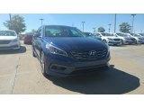 2017 Lakeside Blue Hyundai Sonata Limited #115759247