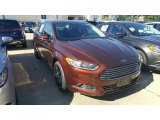 2016 Bronze Fire Metallic Ford Fusion SE AWD #115759338