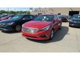2017 Scarlet Red Hyundai Sonata SE #115759238