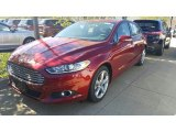 2016 Ruby Red Metallic Ford Fusion SE AWD #115759323