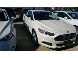 2016 White Platinum Tri-Coat Metallic Ford Fusion SE AWD #115759322
