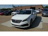 2017 Quartz White Pearl Hyundai Sonata Sport #115759214