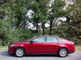 2016 Ruby Red Metallic Ford Fusion S #115758718