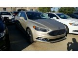 2017 White Gold Ford Fusion SE #115759467