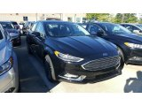 2017 Shadow Black Ford Fusion SE #115759455