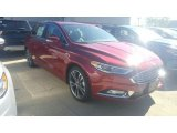 2017 Ruby Red Ford Fusion Titanium AWD #115759429
