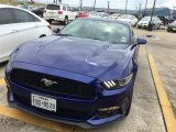 2015 Deep Impact Blue Metallic Ford Mustang EcoBoost Premium Coupe #115805103