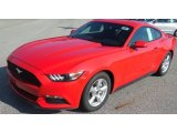 2017 Race Red Ford Mustang V6 Coupe #115813247