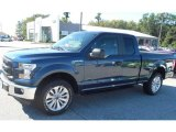 2016 Blue Jeans Ford F150 XL SuperCab 4x4 #115813230