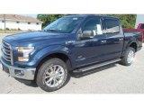 2016 Blue Jeans Ford F150 XLT SuperCrew 4x4 #115813228
