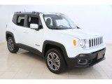 2016 Alpine White Jeep Renegade Limited 4x4 #115838594